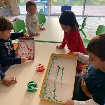 christmas-art-popsicleland-preschool-santaclara-bayarea